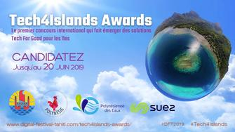 Tech4Islands Awards 2019 : le premier concours international francophone