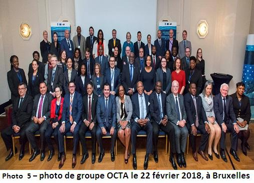 Group photo - Brussels - 22 February 2018 - OCTA MC - Copie