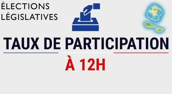 Taux de participation à 12h00_WF_elections legislatives