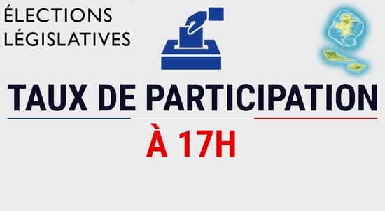 Taux de participation à 17h00_WF_elections legislatives